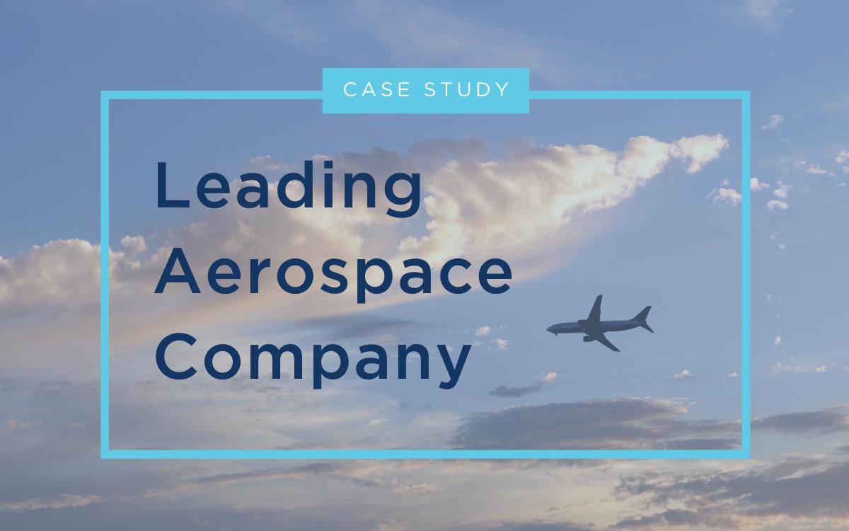 Aerospace - Case Study