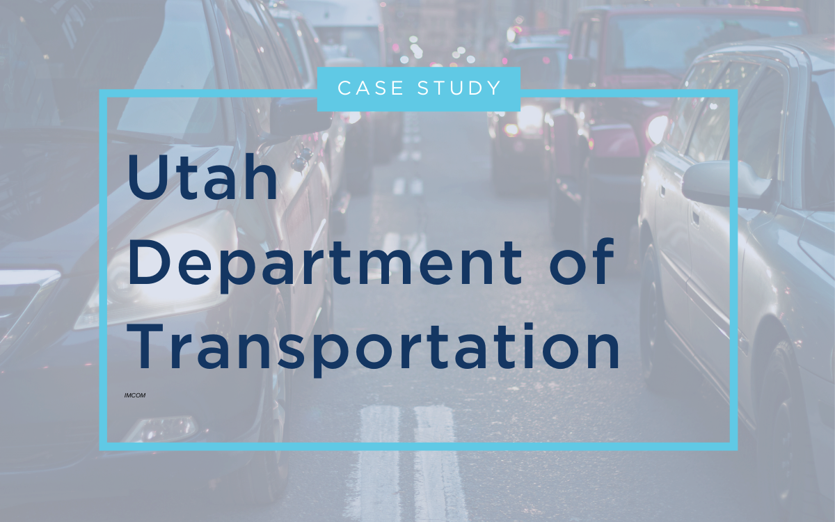 Case Study - UDOT - RESOURCE CENTER Thumbnail