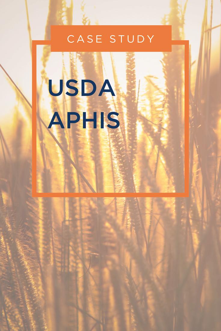 Case Study - USDA APHIS - Thumbnail