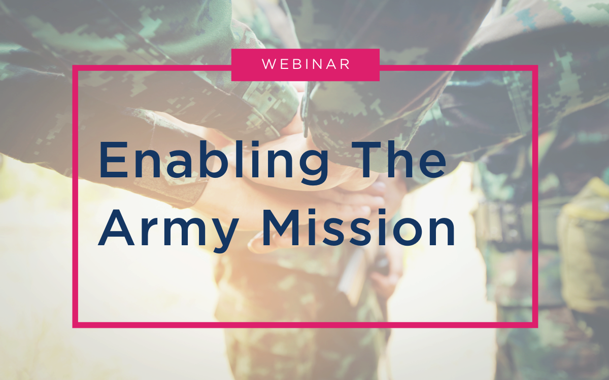 Webinar - Enabling The Army Mission - RESOURCE CENTER Thumbnail(3)